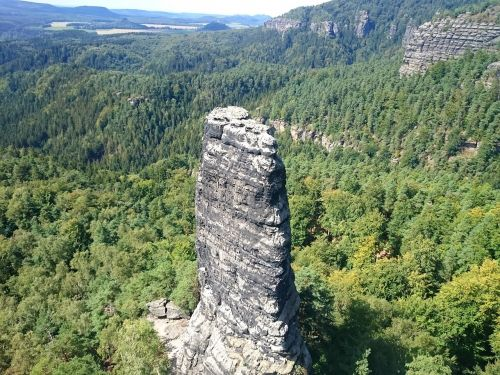 czech switzerland czech-saxon switzerland mountains