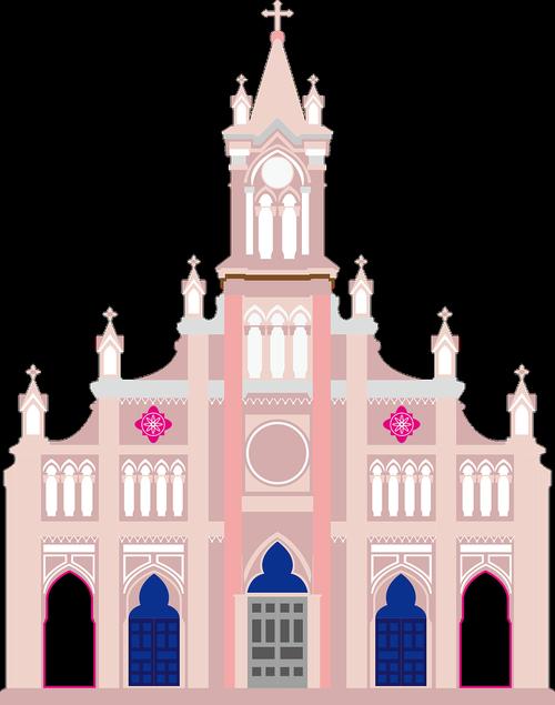 da nang  vietnam  cathedral