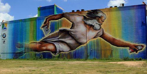 da vinci art graffitti