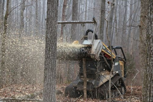 daf forestry industrial shredder brush cutters