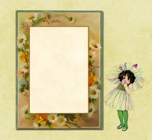 Daisy Flower Invitation Card