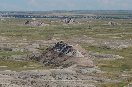 dakota usa landscape