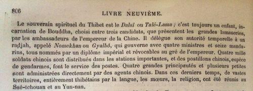 appointment of the dalai lama 1876 translation