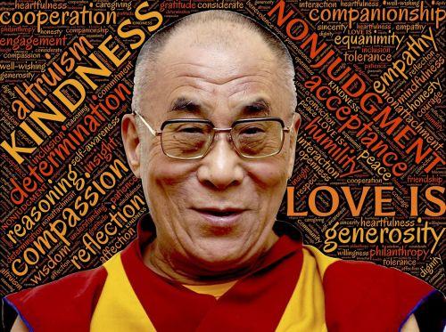 dalai lama holiness love