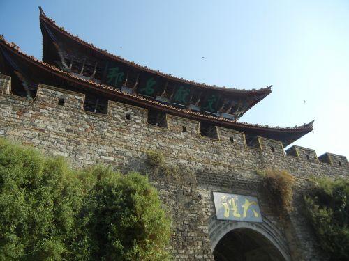 dali old town in yunnan province