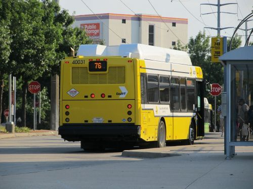 dallas city bus public transportation