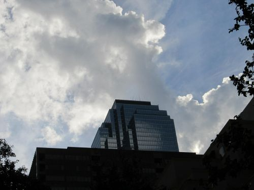 dallas office buildings sky skyline