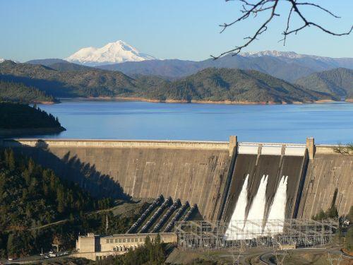 dam reservoir lake