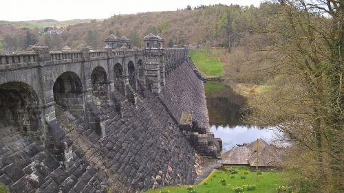 dam reservoir wales
