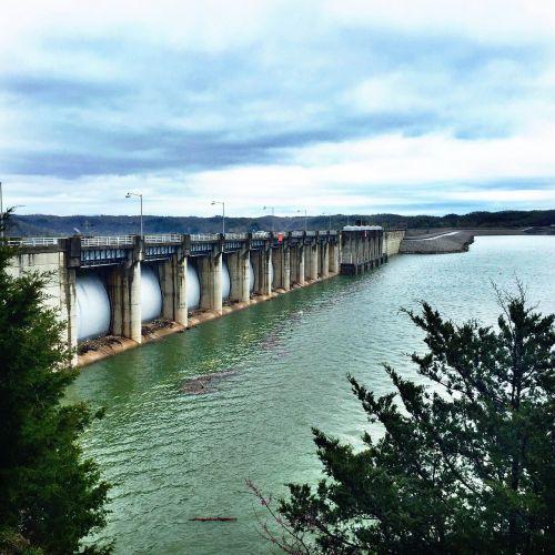 dam lake water