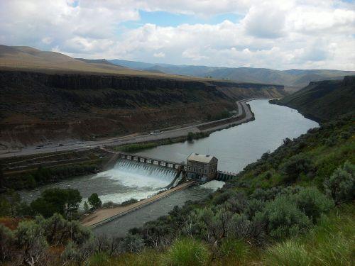 dam river environment