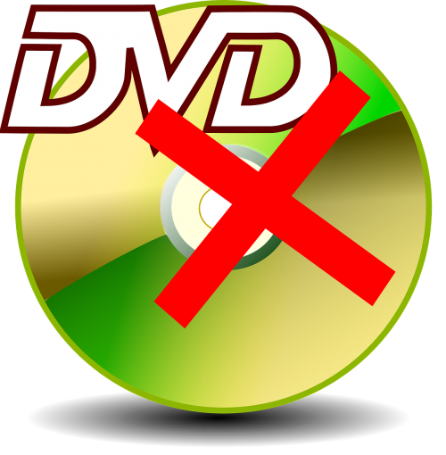 damaged dvd broken dvd defective dvd