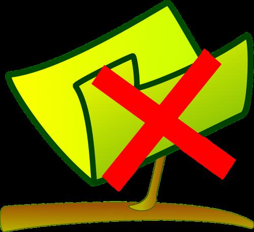 damaged folder outdated file delete file