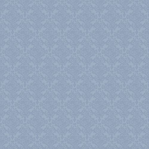 Damask Pattern Wallpaper Grey