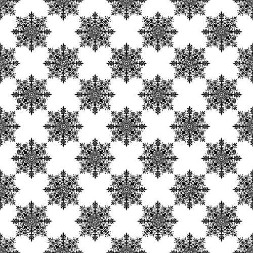 Damask Pattern Wallpaper