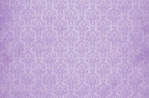 Damask Vintage Background Lavender