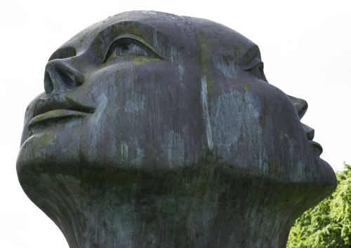 both sides sculpture art