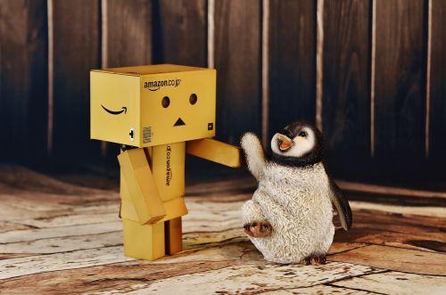 danbo penguin funny