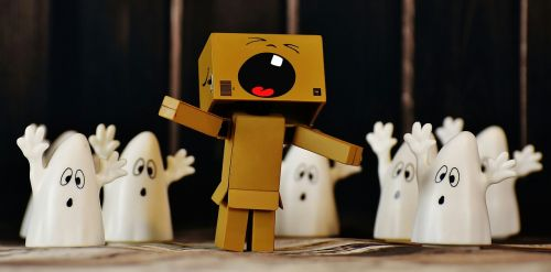 danbo ghost fear