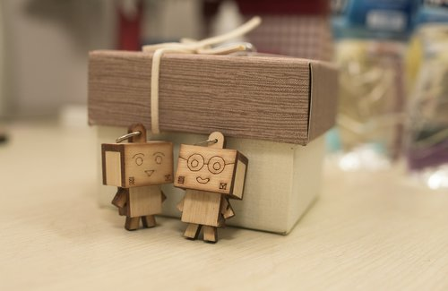danbo  couple  love
