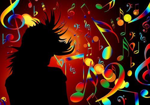 dance music treble clef