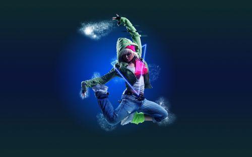 dance girl electro