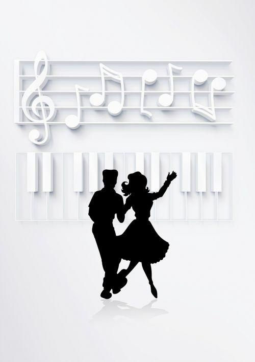 dance dancing couple pair