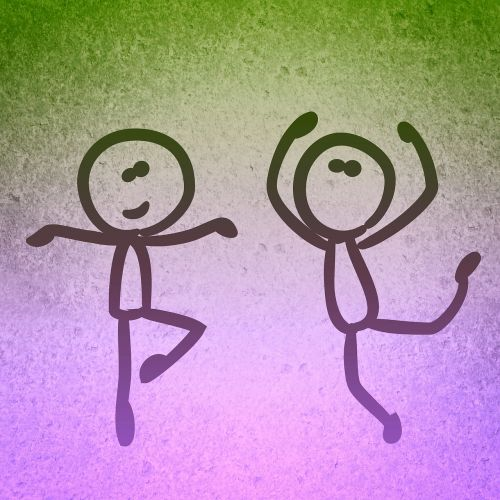 dance background funny