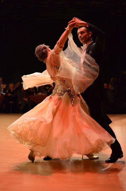 dance couple waltz