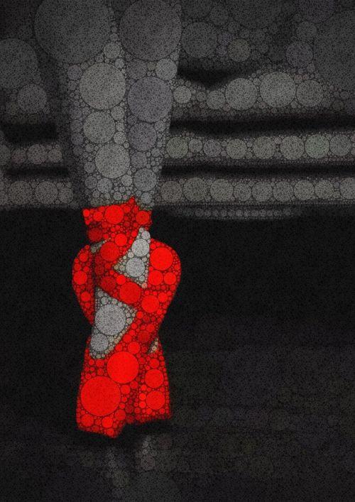 dance ballerina red ballerina slippers