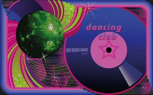 dance club platter disco