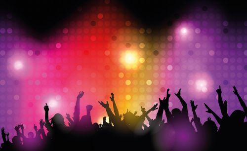 dance club disco lighting