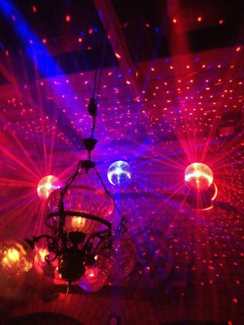dance floor disco ball nightclub