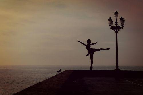 dancer woman girl