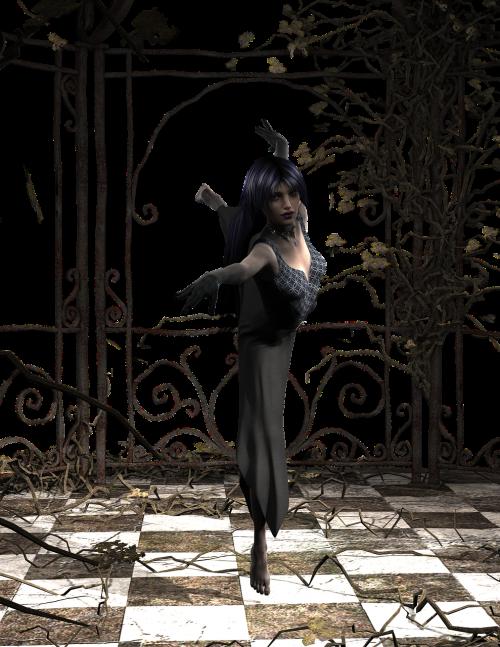 dancer woman perform