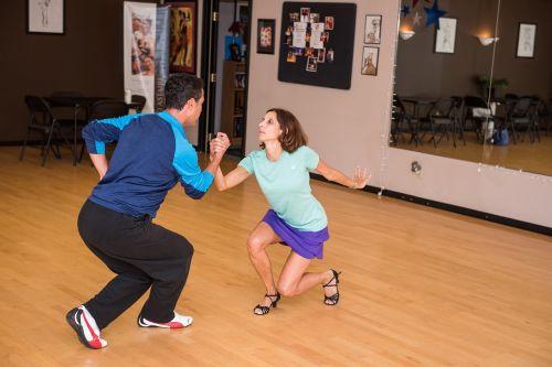 dancer practice female