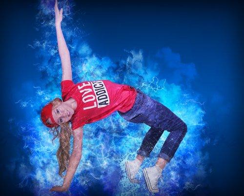 dancer  hip hop  motion