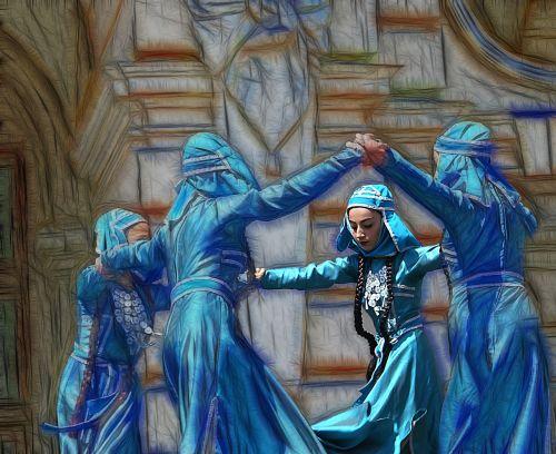 dancers dance folk dance