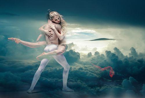dancers dreaming fantasy