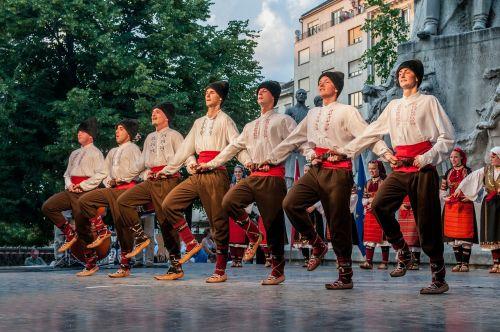 dancers hungarian costume