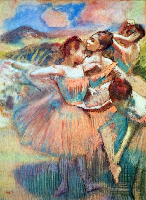 Dancers In The Landscape
