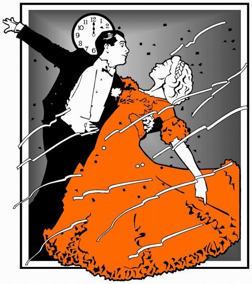 dancing dance red