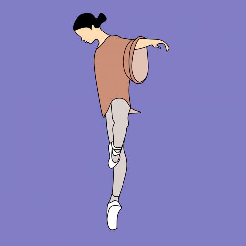 dancing dance girl