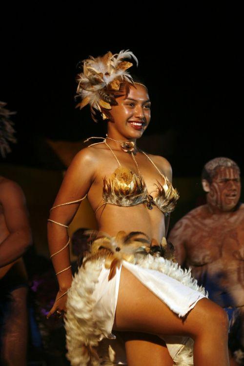 dancing ethnic women