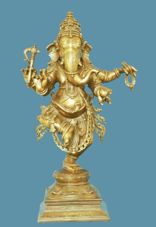 dancing ganesh god hindu
