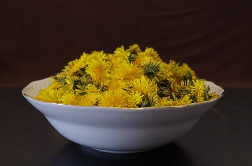 dandelion health salad