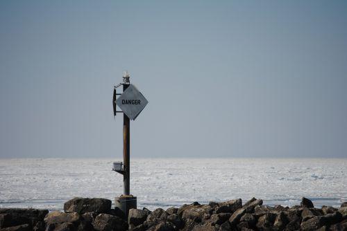 beach sea danger