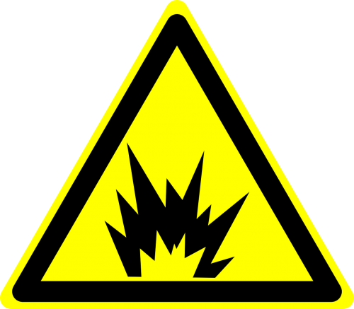 danger explosion hazard