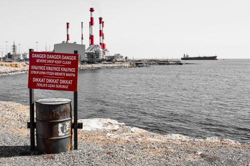 danger warning signpost