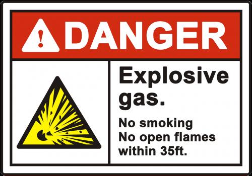 danger warning explosive